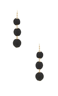Amore Earring in Black