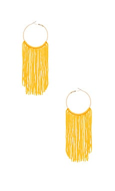 Georgia Earring in Yellow