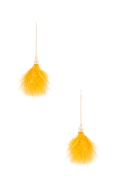 Moulin Earring in Mustard