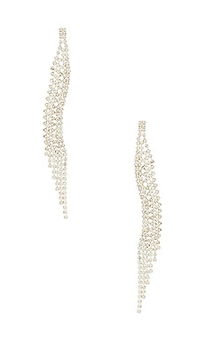 BOUCLES D'OREILLES CURVED DANGLE 8 Other Reasons $40 BEST SELLER