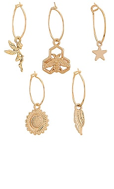 ENSEMBLE DE BOUCLES D'OREILLES JUNIPER 8 Other Reasons $47