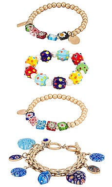 Glass Bead Bracelet Set 8 Other Reasons $127
