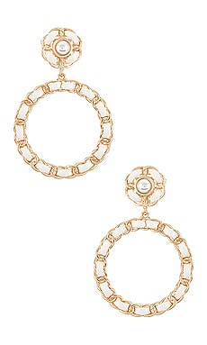 X REVOLVE Helena Hoop Earrings 8 Other Reasons $52