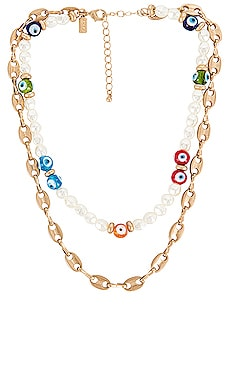Talisman Layered Necklace 8 Other Reasons $74