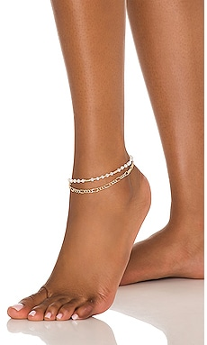 X Sofia Richie Double Chain Anklet 8 Other Reasons $26