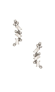 8 Other Reasons Cosmic Ear Cuff in Rhodium & A-Glass Stone
