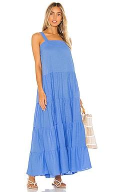 Sayulita Tier Maxi Dress 9 Seed $116