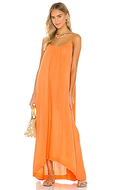 Tulum Low Back Maxi Dress 9 Seed $174