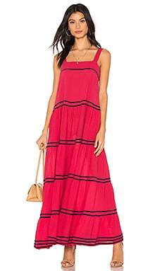 Sayulita Tier Maxi Dress 9 Seed $339