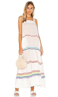 Sayulita Tier Maxi Dress 9 Seed $328
