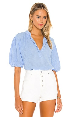 Biarritz Puff Sleeve Top 9 Seed $196 BEST SELLER