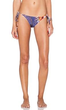 AGUADECOCO Paradise Bikini Bottom in Print