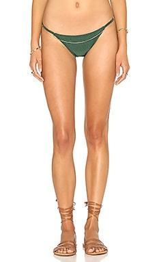 AGUADECOCO Chain Bikini Bottom in Green