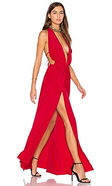 x REVOLVE Chi Dress in Red