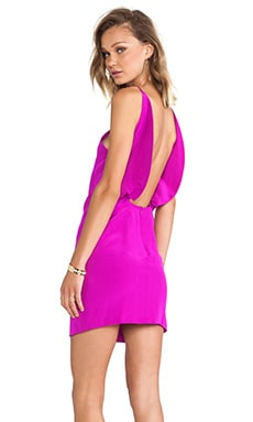 Paola Dress in Fuchsia