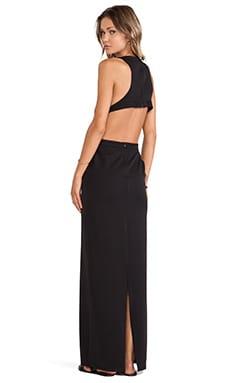 Assali Rake Dress in Black