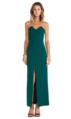 Assali The Squint Dress in Gem Green