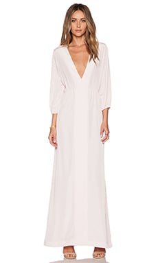 Assali Reticent Kaftan in Bois De Rose