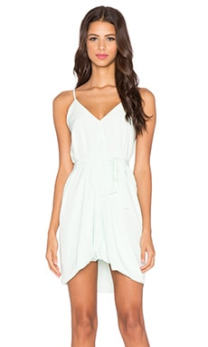 Assali Lavinia Mini Dress in Pale Mint