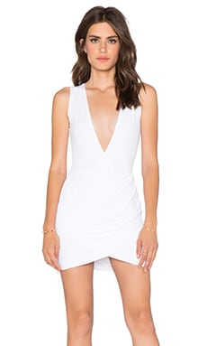Assali Hindrex Mini Sleeveless Dress in White
