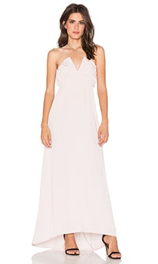 Assali Livia Maxi Dress in Nude