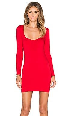 Assali Mimosa Mini Dress in Apple Red