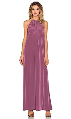 Assali Borgia Dress in Argyl Purple