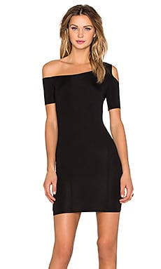 Assali Rapture Mini Dress in Black