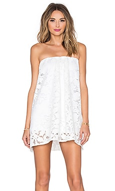 Assali Sage Mini Dress in Crisp White
