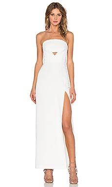 Assali Veda Dress in Crisp White