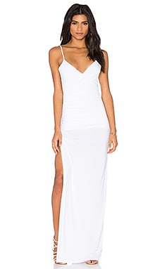 Assali Agni Dress in Crisp White