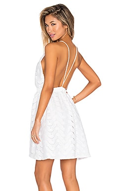 Oisin Mini Dress in Crisp White