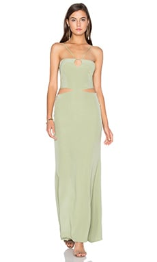 Assali Laccadive Dress in Palm Green