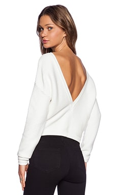 Assali Snatch Sweater in White
