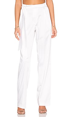 Assali Kenzo Pants in Crisp White