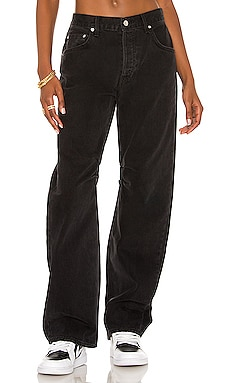 Four Page Letter Denim Pant AALIYAH x REVOLVE $198