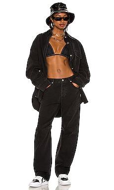 Back & Forth Denim Jacket AALIYAH x REVOLVE $258