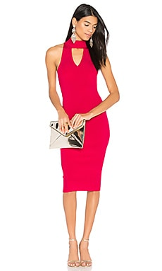 Livy Dress in Bright Rose