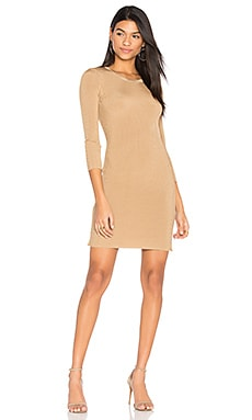 Morgan Dress in Tan