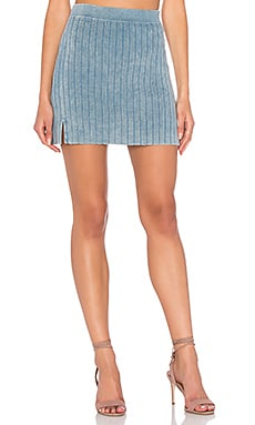 Anabel Skirt en Washed Blue