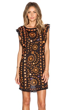 BARBADE EMBELLISHED DRESS