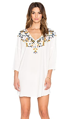 Antik Batik Tekoa Caftan in Cream