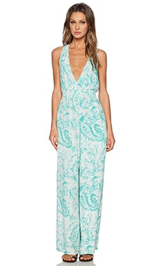 Antik Batik Dane Jumpsuit in Aqua