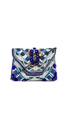 Antik Batik Margot Clutch in Indigo