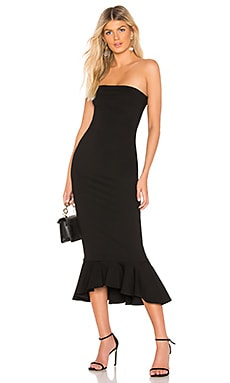 Izzy Ruffle Maxi Dress superdown $68