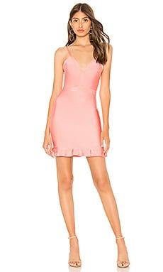 Облегающее мини-платье со складками marin - About Us
