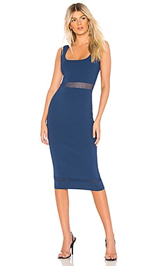 Kennedy Knit Midi Dress About Us $72