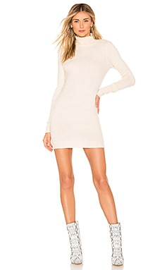 Nadia Turtle Neck Dress superdown $43