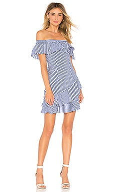 Rosa Striped Off Shoulder Dress About Us $68 NEW ARRIVAL