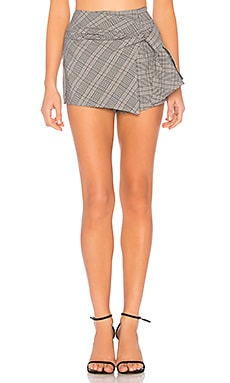Ashlee Plaid Skort About Us $32